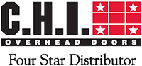 C.H.I. Overhead Doors, 4-Star Authorized Dealer